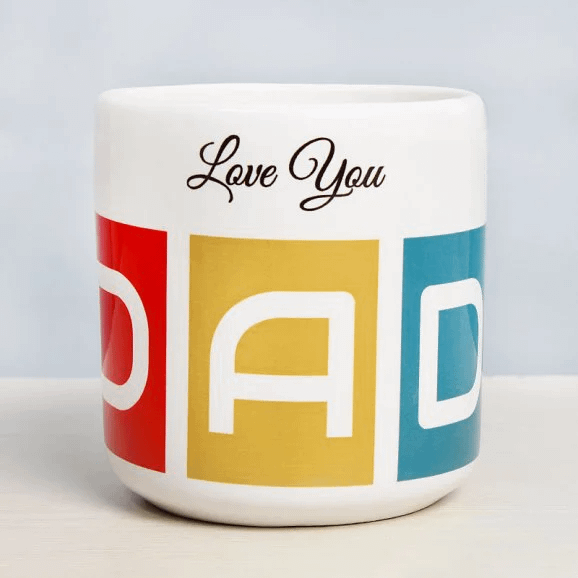 Worlds Best Daddy - Send Printed Mug For Father's Day