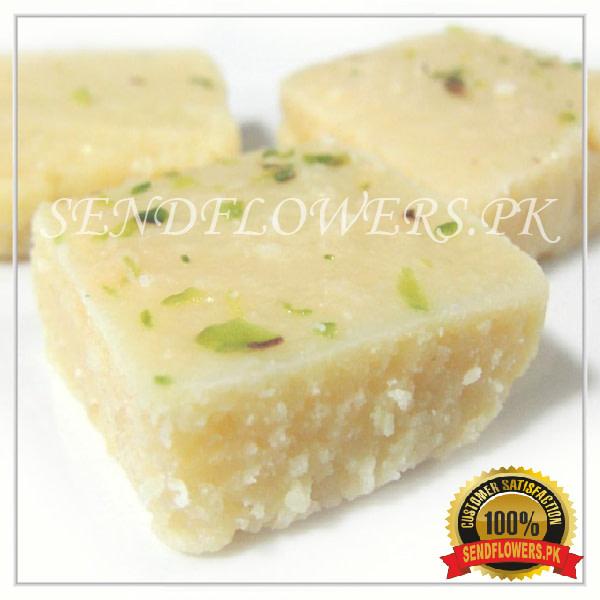 Almond Special Barfi - SendFlwoers.pk