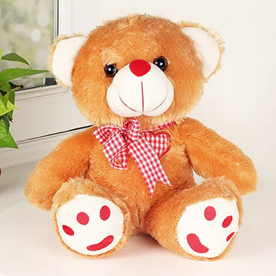 Brownie Teddy Bear - SendFlowers.pk