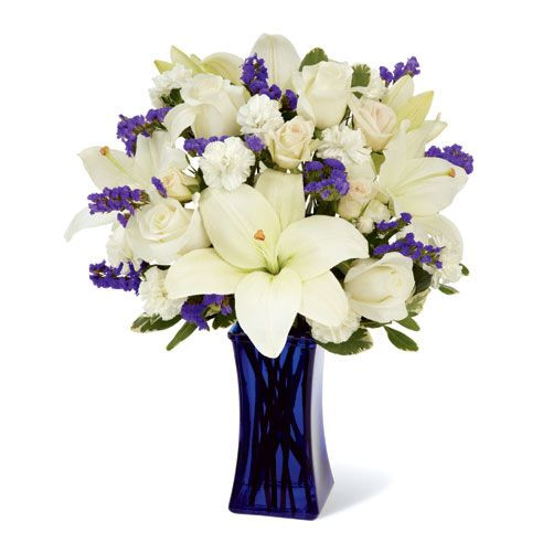 White Love of Lilies send flowers to pakistan