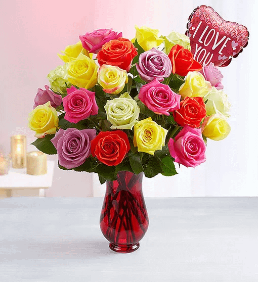 Delivery of You are My Love on Birthday