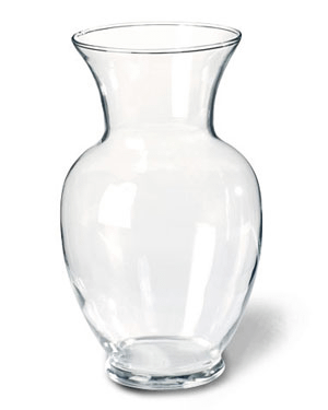 Big Surahi Glass Vase - SendFlowers.pk