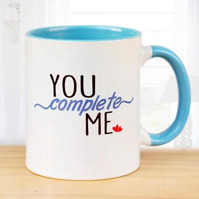 You Complete Me Mug - SendFlowers.pk