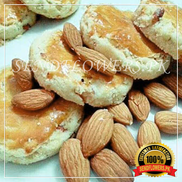 Khalifa Special Almond Nankhatai - Sendflowers.pk