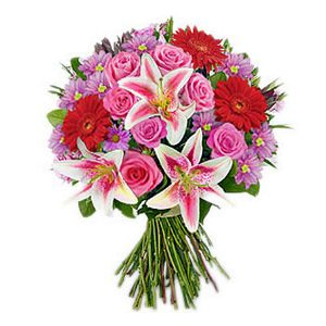 Delivery of Beauty of Purple & Pink in Pakistan