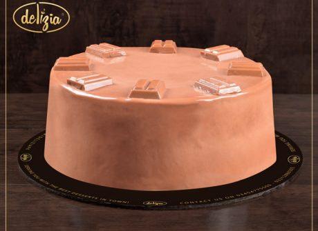 Cadbury Dairy Milk Cake 2.5LBS - SendFlowers.pk
