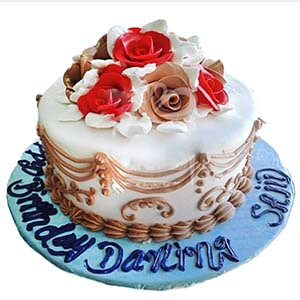 Delivery of Birthday Love Cake in Pakistan