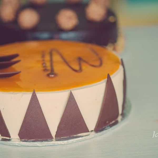 COFFEE CARAMEL PREMIUM CAKE - sendflowers.pk