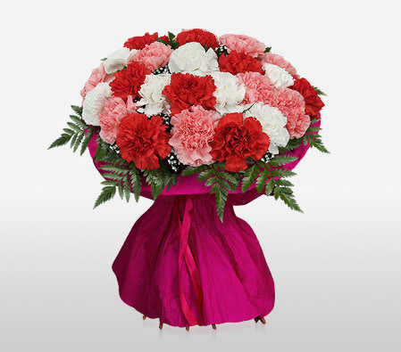 Delivery of Colors of Love Bouquet in Pakistan