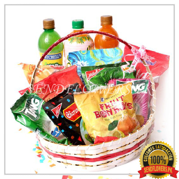 Fruity Surprise Gift Basket - Sendflowers.pk