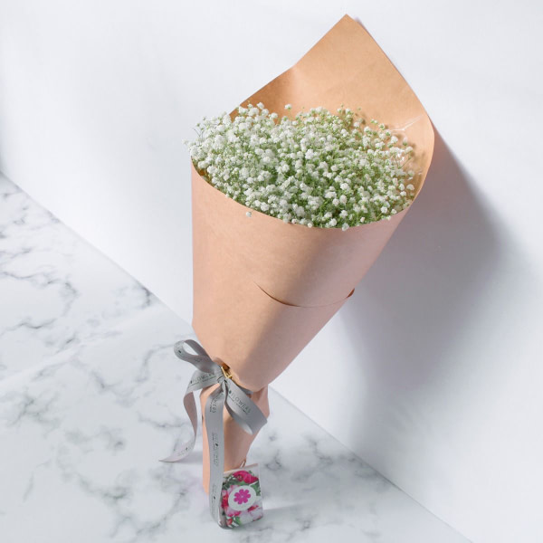Baby Breath Lovely Bouquet - send same day flowers to Lahore - Islamabad