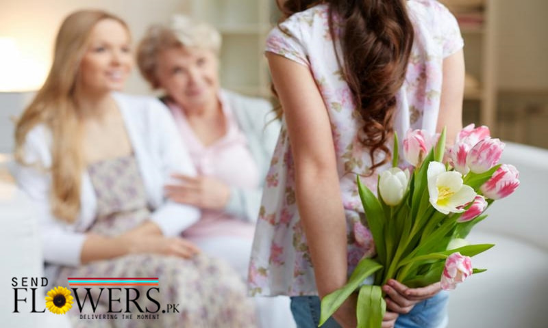 send fresh flowers online, Flowers delivery in Pakistan from Canada