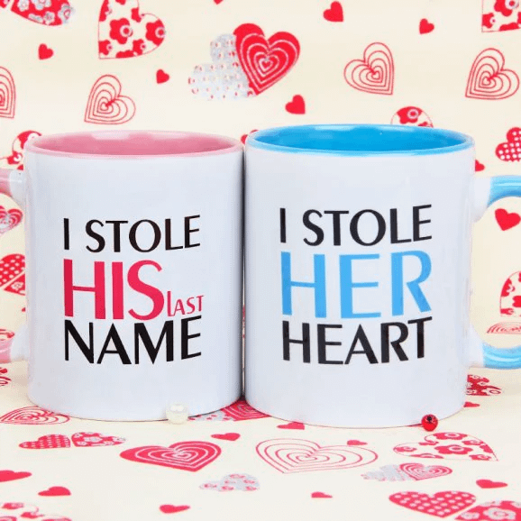 Hearty Romance - Send Anniversay Mugs Lahore