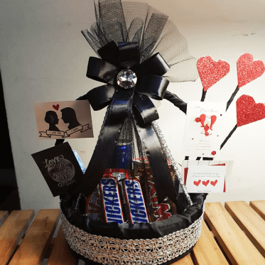 Best Wishes Basket (12 Inches)