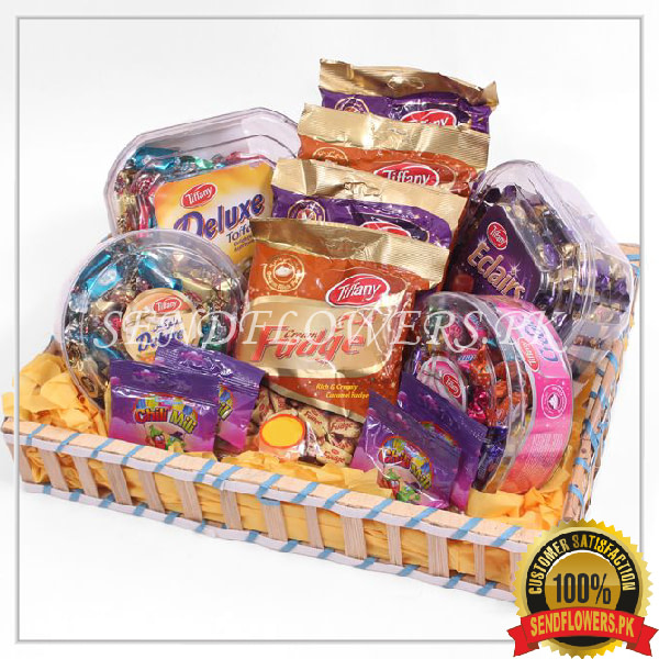Special Toffee Lovers Gift Basket - SendFlowers.pk