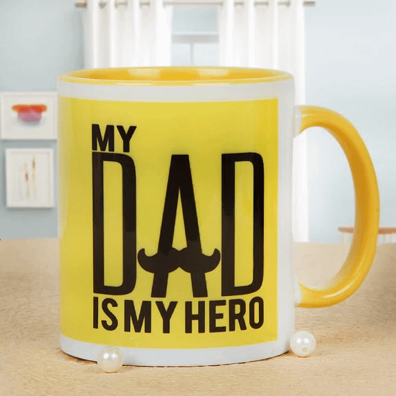 Hashtag Super Dad - Send Printed Mug For Father's Day
