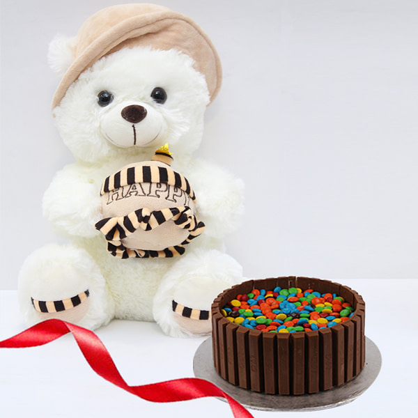 Chocolaty With Bear - SendFlowers.PK
