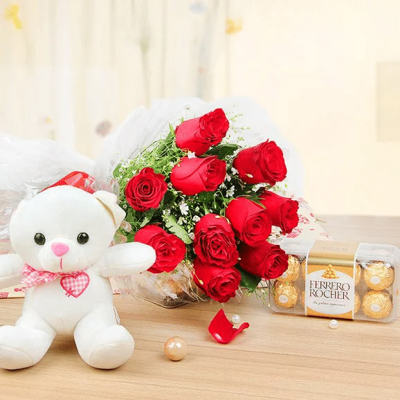 Cuddly Choco Fantasy - Same Day Flowers Delivery in Pakistan
