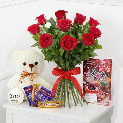 I Love you My Life Combo - Send Flowers to Pakistan