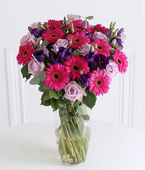 Birthday Daises and Roses sendflowers.pk