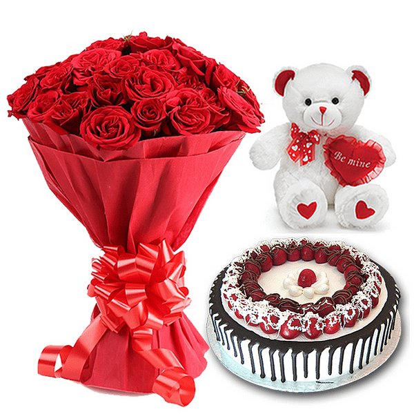 Delivery of Just Be Mine gift on Eid in Pakistan
