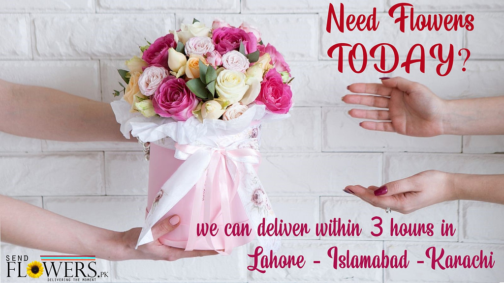 Send Flowers to Pakistan from USA
