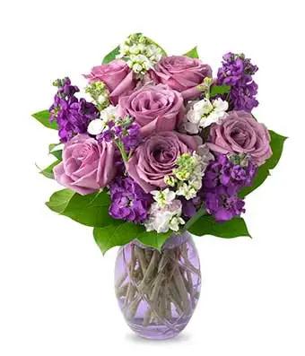 Zeal Purple Love - SendFlowers.pk
