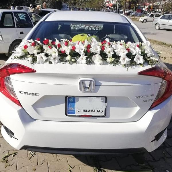 Honda Civic Decoration 2 - SendFlowers.pk