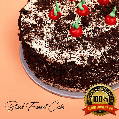Black Forest Cakes - Online Cakes Delivery -Sendflowers.pk