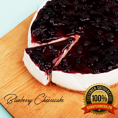 Blueberry Cheese Cakes - Online Cakes Delivery - Sendflowers.pk