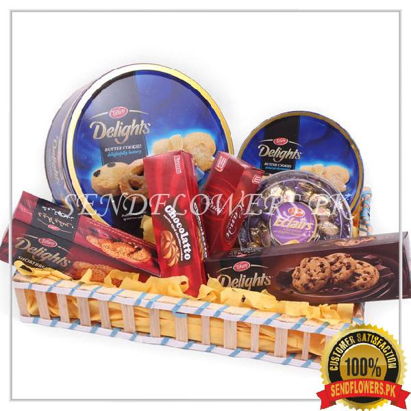 Special Cookies Gift Basket - SendFlowers.pk