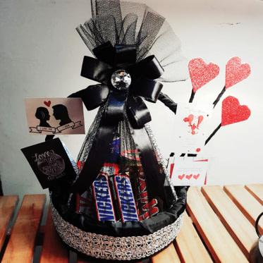 Just For You Basket - online chocolate basket delivery